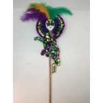 "18"" Jester Face Wand PGG"