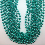 "42"" 10MM Round Teal Beads"