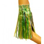 "10"" Purple, Green and Gold Hula Sleeves"