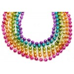 "33"" 7mm Global Beads Assorted Neon Colors"